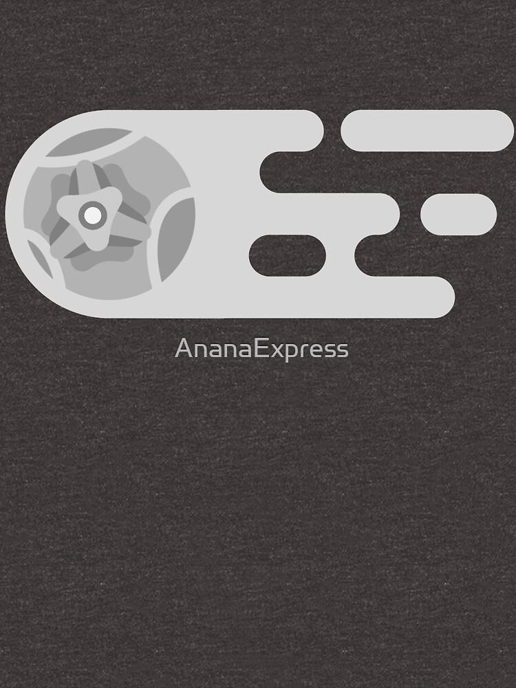Liga de cohete monocromática de AnanaExpress