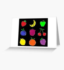 Fruits #2! Greeting Card