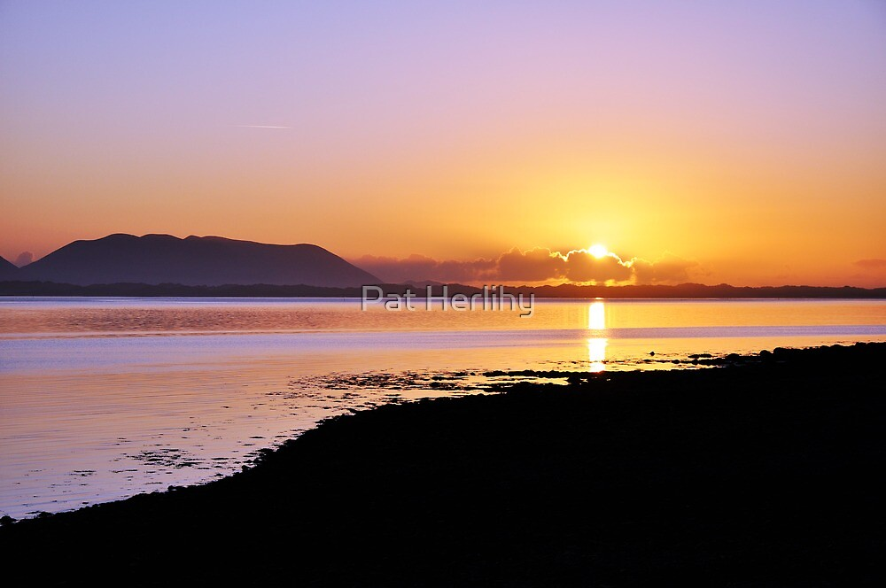Sunset at Inch, Co. Kerry, Ireland by Pat Herlihy