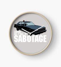 Reloj Sabotaje Beastie Boys Car Tshirt