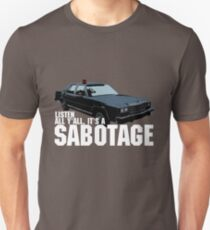 Camiseta unisex Sabotaje Beastie Boys Car Tshirt