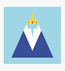 Adventure Time- Ice King Photographic Print