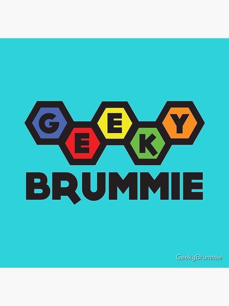 The Classic Geeky Brummie Logo by GeekyBrummie