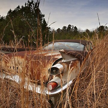 Off in the Weeds - Abandoned 1958 Dodge Coronet by mal-photography