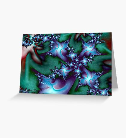 Winter Blossom Greeting Card