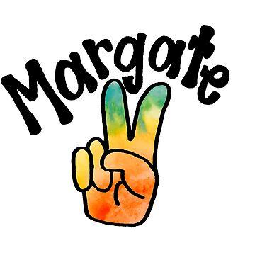 Margate TieDye Peace Sign by alexavec