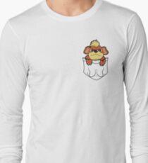 Growlithe Pocket Long Sleeve T-Shirt