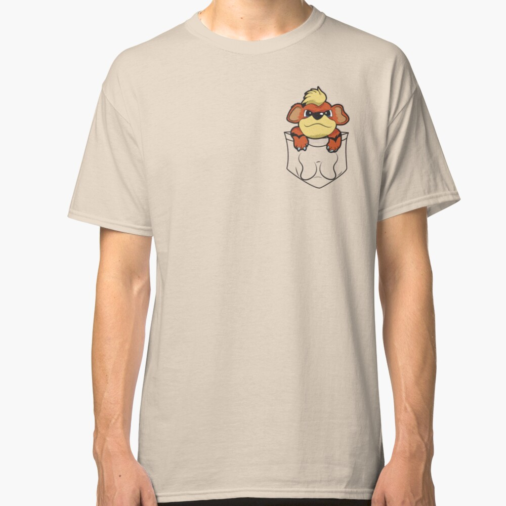 Growlithe Pocket Classic T-Shirt