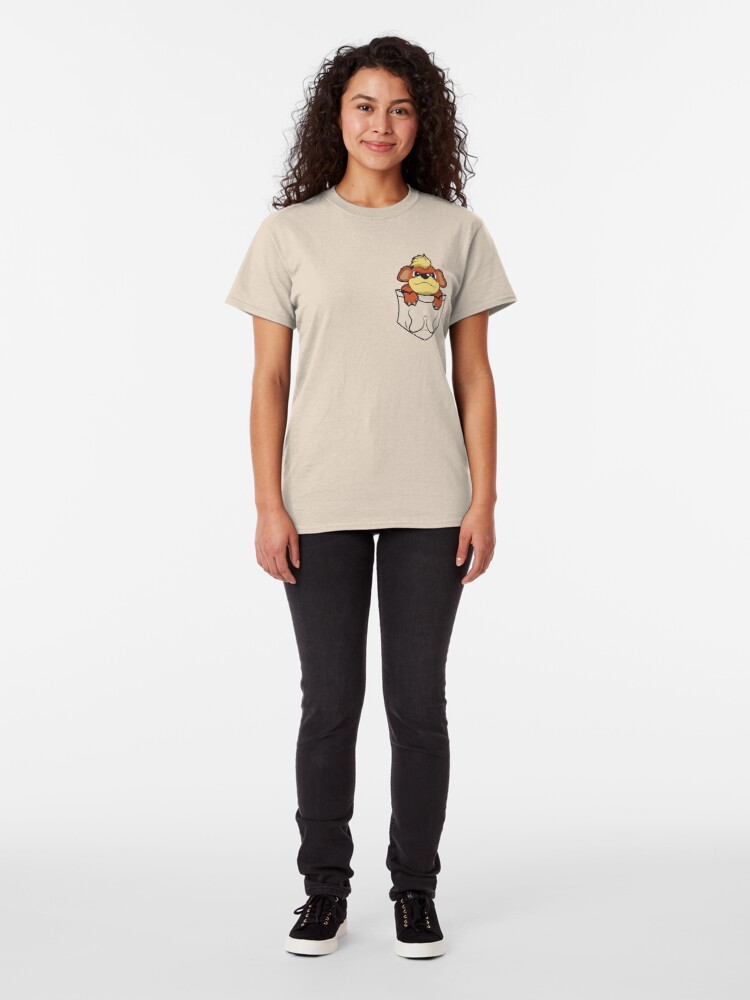 Alternate view of Growlithe Pocket Classic T-Shirt