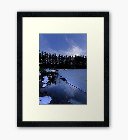 Morton Fishery III - Kirknewton Framed Print