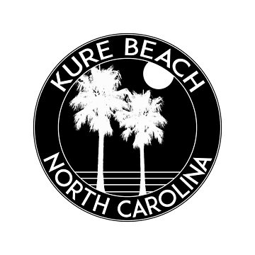 Kure Beach North Carolina by MyHandmadeSigns