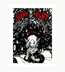 Stille Nacht / Missi / Print Kunstdruck