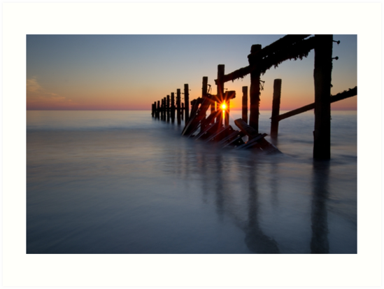 Happisburgh sunrise by cieniu1