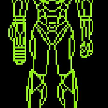 Super Metroid / Green Line by MisterPixel