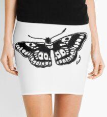 Butterfly Tattoo Mini Skirt