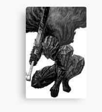 Berserk - Guts in the Berserk Armor Metal Print