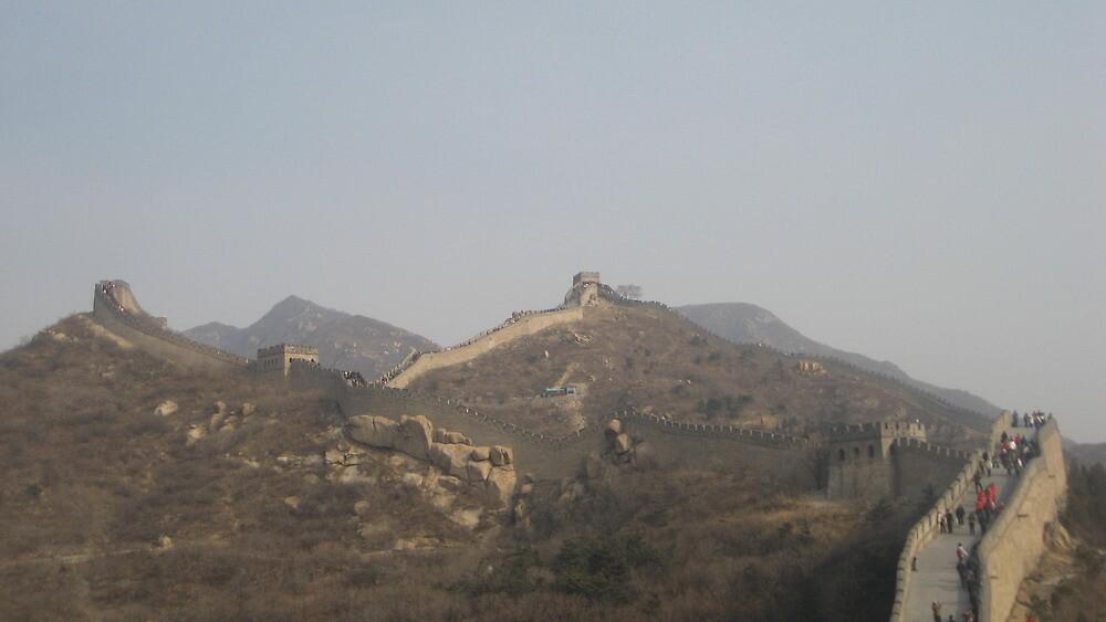 great wall 长城 by tzukasa