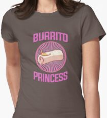 Burrito Princess Women's Fitted T-Shirt