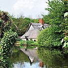 Bridge Cottage on the Stour by Paul Gibbons