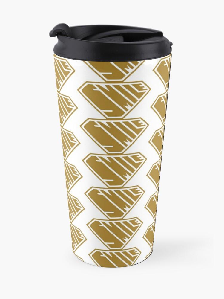 Alternate view of Smile SuperEmpowered (Gold) Travel Mug