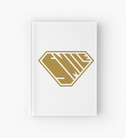 Smile SuperEmpowered (Gold) Hardcover Journal