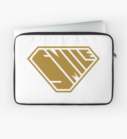 Smile SuperEmpowered (Gold) Laptop Sleeve