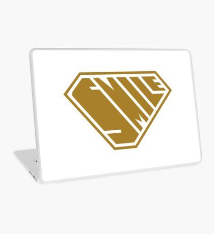 Smile SuperEmpowered (Gold) Laptop Skin