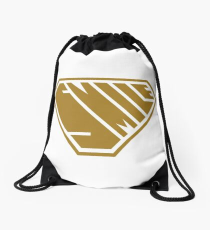 Smile SuperEmpowered (Gold) Drawstring Bag