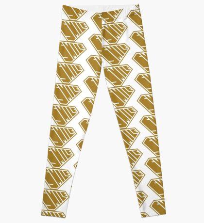 Smile SuperEmpowered (Gold) Leggings