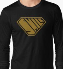 Smile SuperEmpowered (Gold) Long Sleeve T-Shirt