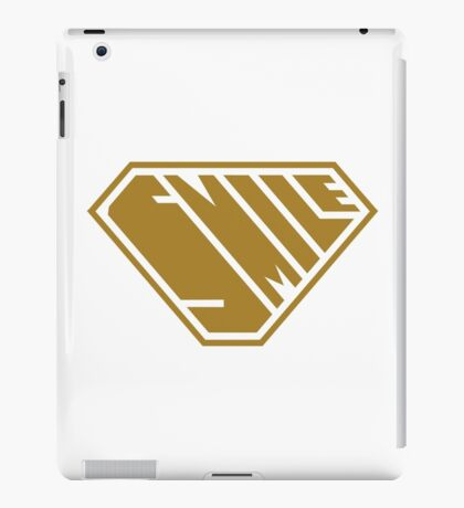 Smile SuperEmpowered (Gold) iPad Case/Skin