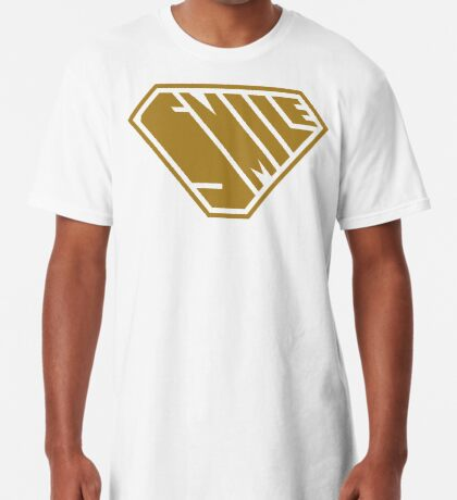 Smile SuperEmpowered (Gold) Long T-Shirt