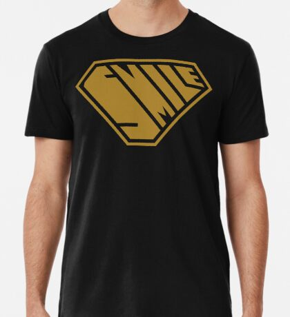 Smile SuperEmpowered (Gold) Premium T-Shirt