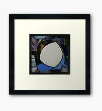 Square Mirror No 2 Framed Print