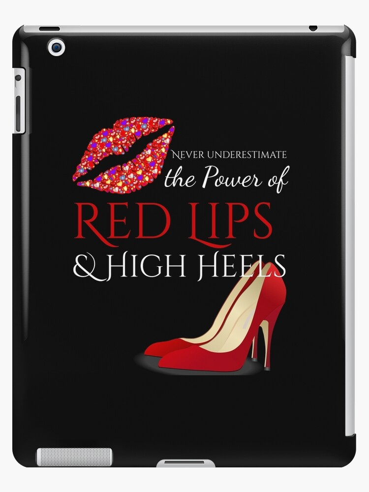 'High Heels and Red Lips' iPad CaseSkin by mvk projects