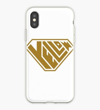 Yellow SuperEmpowered (Gold) iPhone Case