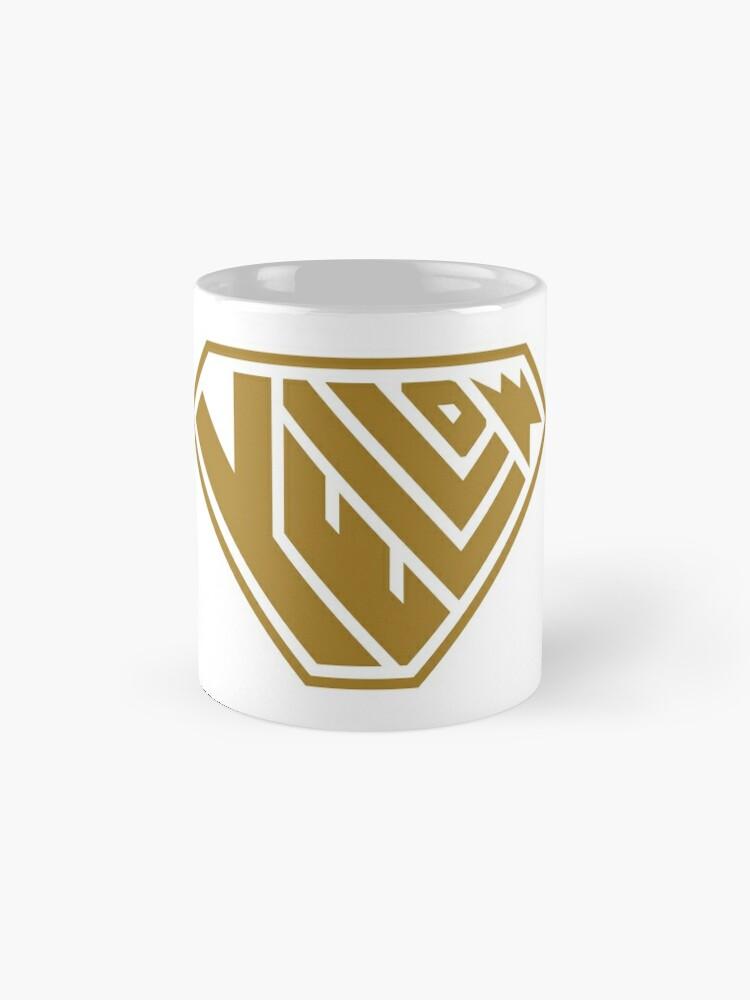 Alternate view of Yellow SuperEmpowered (Gold) Classic Mug