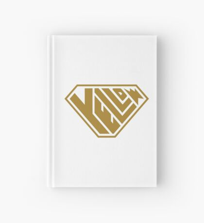 Yellow SuperEmpowered (Gold) Hardcover Journal
