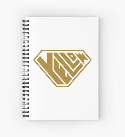 Yellow SuperEmpowered (Gold) Spiral Notebook