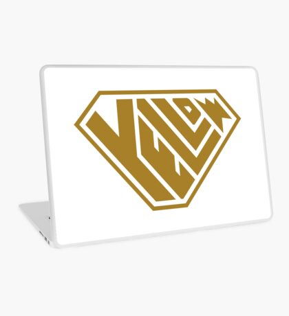 Yellow SuperEmpowered (Gold) Laptop Skin