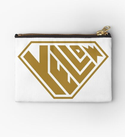 Yellow SuperEmpowered (Gold) Zipper Pouch