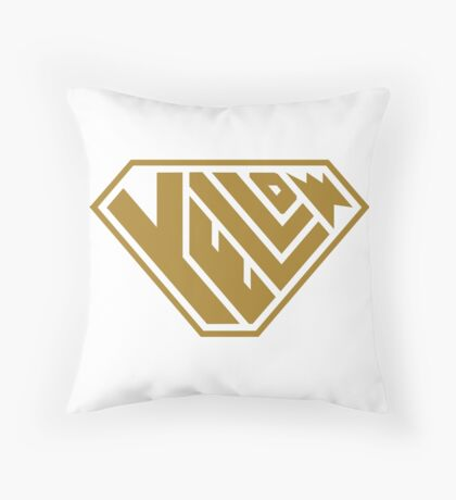 Yellow SuperEmpowered (Gold) Floor Pillow