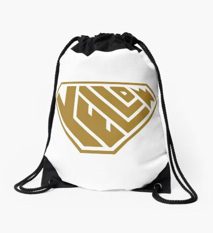 Yellow SuperEmpowered (Gold) Drawstring Bag