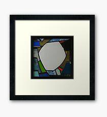 Square Mirror No 3 Framed Print