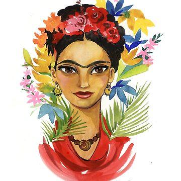 Frida! und Blumen von Niloufer