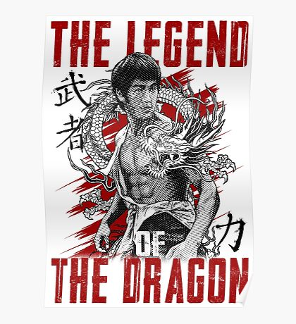 Bruce Lee The Legend of the Dragon Poster