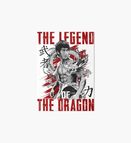 Bruce Lee The Legend of the Dragon Art Board