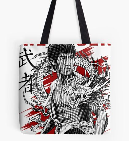 Bruce Lee The Legend of the Dragon Tote Bag