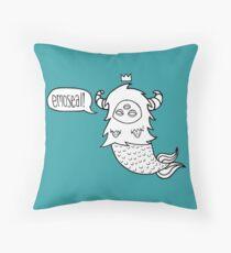 EmoSeal! Throw Pillow