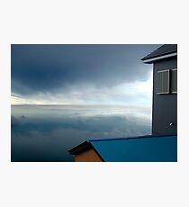 Blue Stratosphere Photographic Print